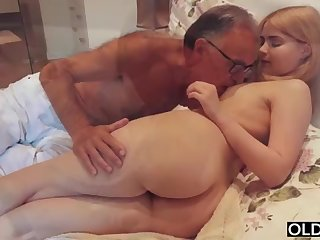 forcible yo lady smooching and pokes the brush bit daddy in his nook