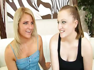 21 Years Old Lesbian Lovers Having an Oral Session