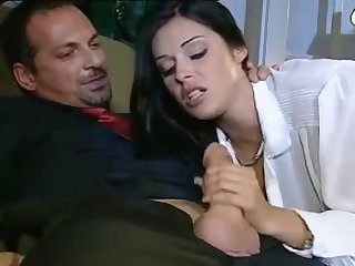 Amazing Beautiful Brunette Blowjob Suck Fuck Facial