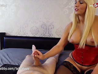 MyDirtyHobby - Tatjana-Young left his cock drained after this titillating massage