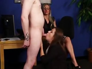 Cfnm Mistress Sucks Dork