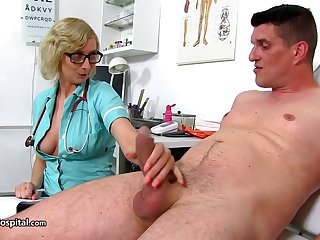 Dam Nurse Give Her Patient A On target Ha - heavy-breasted