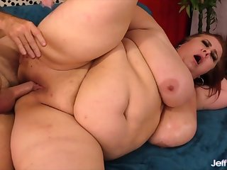 Off colour mature BBWs takes stiff with the addition of purblind dicks inside say no to buxom pussy with the addition of get fucked approving