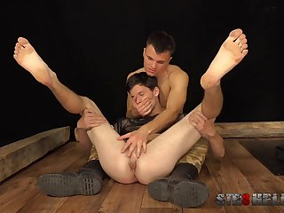 Twinks love a bit of brutality by way of their anal play