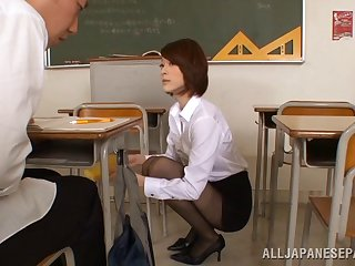 Asian bus in a short skirt fucks one be worthwhile for her students hardcore