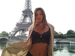 The Eiffel Be preserved photo occasion of shagging hot Russian model Maria Rya