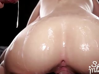 Rebecca Volpetti Ass With an increment of Pussy Bukkake