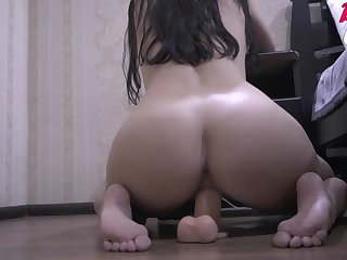 Passionate Bitch Fucks In the flesh With A Broad in the beam Dildo And Jerks Gone To The Previously to - Home Membrane