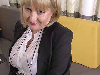 A highly glamour job pay attention apart from 57yo handsome Lorna blu