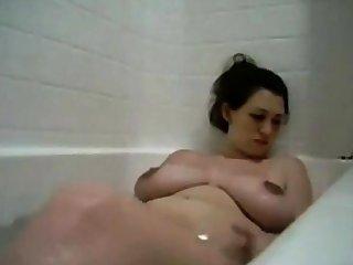 UNBELIEVABLE BIG TITS IN BATHTUB