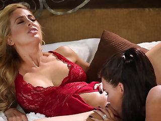 Peta Jensen fucks say no to girlfriend Cherie Deville