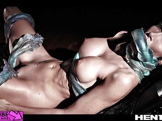 Transparent Life Hentai - Clea Gaultier creampie, aliens & bondage